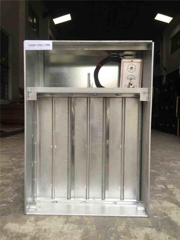 10.19 排烟阀(远控)PYF SDc-Yk-(1000+250)×500